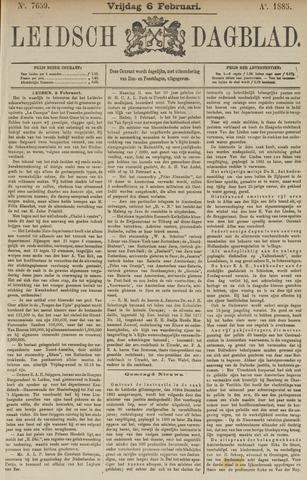 Leidsch Dagblad 1885-02-06