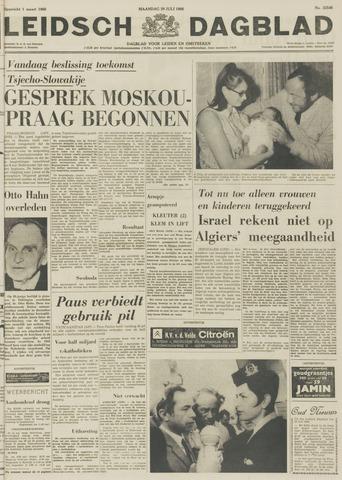 Leidsch Dagblad 1968-07-29