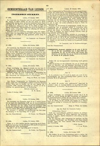 Handelingen van de Raad 1909-10-19