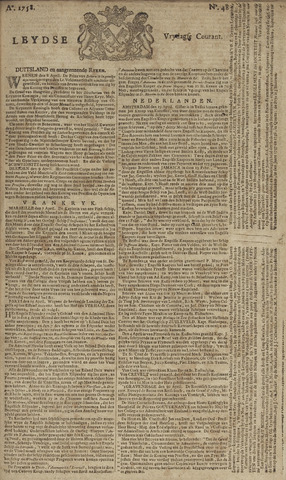 Leydse Courant 1758-04-21