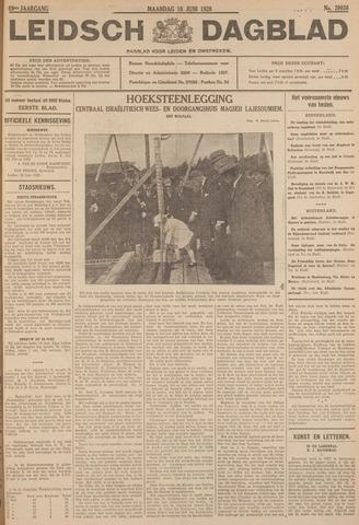 Leidsch Dagblad 1928-06-18