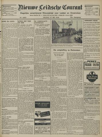 Nieuwe Leidsche Courant 1938-05-27