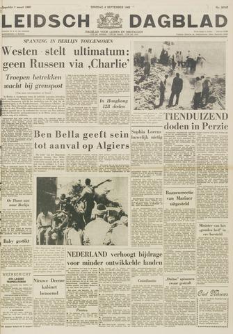 Leidsch Dagblad 1962-09-04