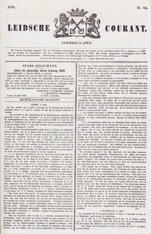 Leydse Courant 1876-04-08