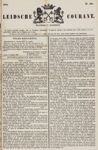 Leydse Courant 1884-08-11