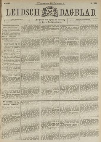 Leidsch Dagblad 1896-02-26