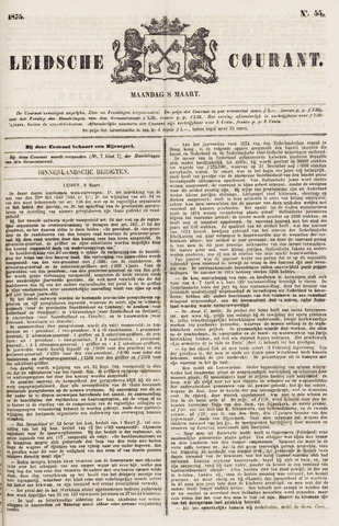 Leydse Courant 1875-03-08