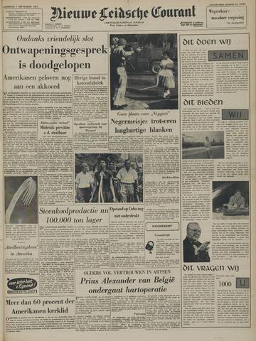 Nieuwe Leidsche Courant 1957-09-07