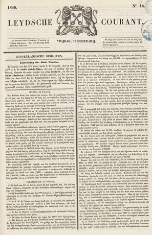 Leydse Courant 1846-02-13