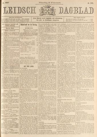 Leidsch Dagblad 1915-02-09