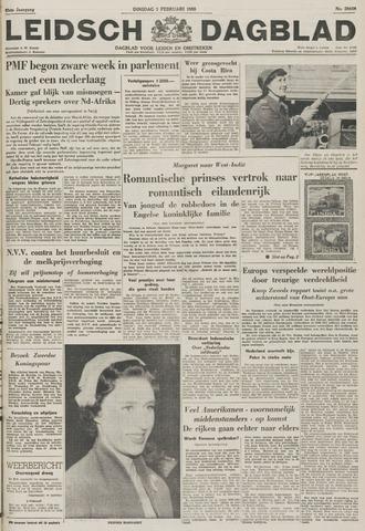 Leidsch Dagblad 1955-02-01
