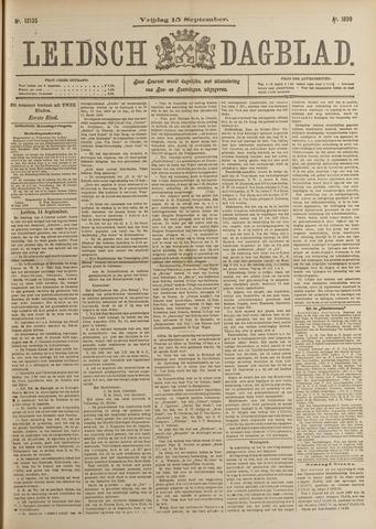 Leidsch Dagblad 1899-09-15