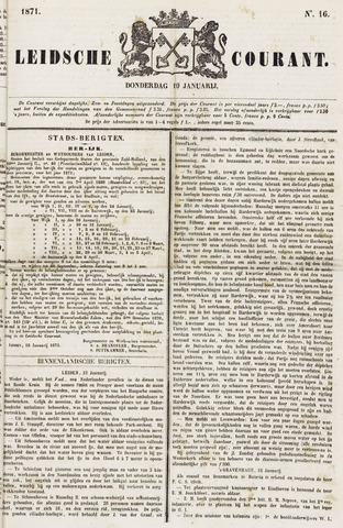 Leydse Courant 1871-01-19
