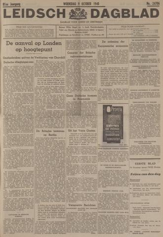 Leidsch Dagblad 1940-10-09