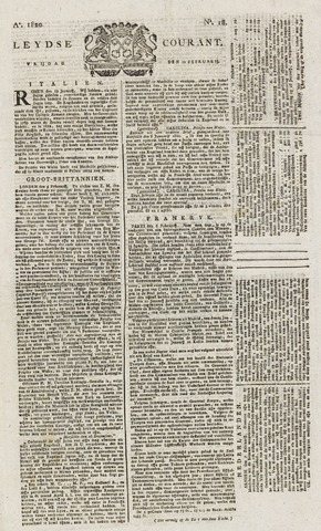 Leydse Courant 1820-02-11
