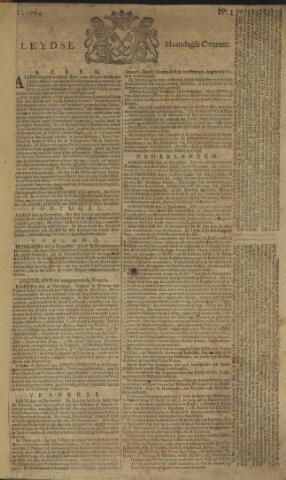 Leydse Courant 1764