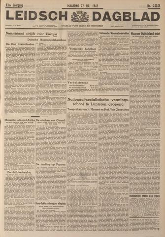 Leidsch Dagblad 1942-07-27