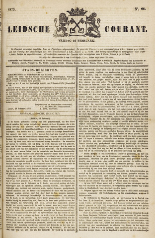 Leydse Courant 1873-02-21