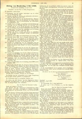 Handelingen van de Raad 1899-04-27