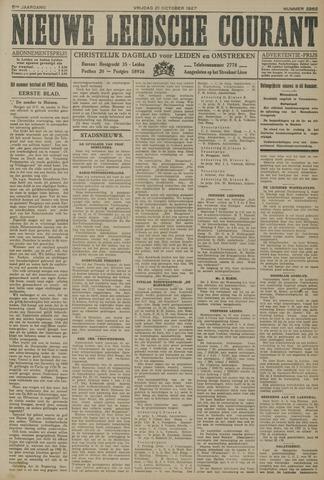 Nieuwe Leidsche Courant 1927-10-21