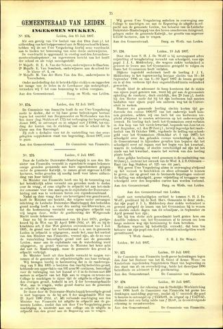 Handelingen van de Raad 1897-07-13