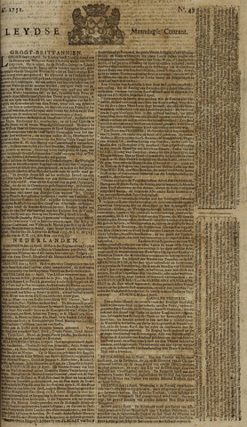 Leydse Courant 1751-04-19