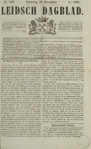 Leidsch Dagblad 1861-11-30