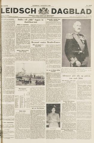 Leidsch Dagblad 1954-08-07