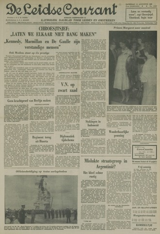 Leidse Courant 1961-08-12