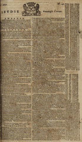 Leydse Courant 1752-11-27