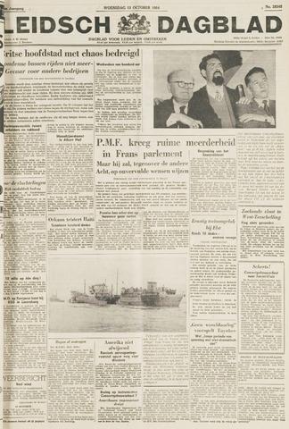 Leidsch Dagblad 1954-10-13