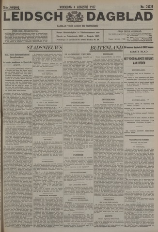 Leidsch Dagblad 1937-08-04