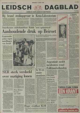 Leidsch Dagblad 1982-08-12