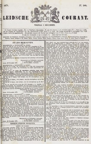 Leydse Courant 1871-12-01
