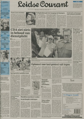 Leidse Courant 1992-08-05