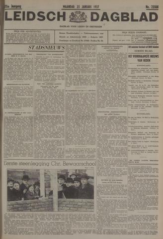 Leidsch Dagblad 1937-01-25