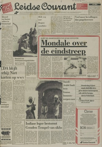 Leidse Courant 1984-06-06