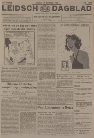 Leidsch Dagblad 1940-09-21