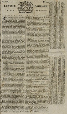 Leydse Courant 1803-08-26