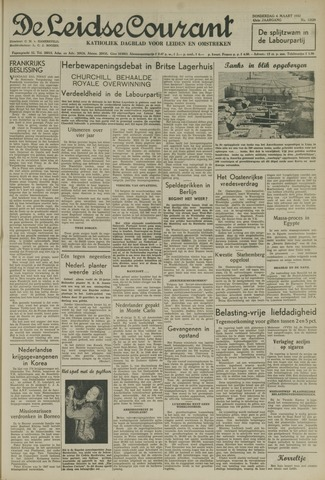 Leidse Courant 1952-03-06