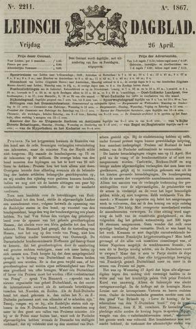 Leidsch Dagblad 1867-04-26