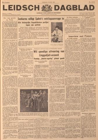 Leidsch Dagblad 1947-06-27
