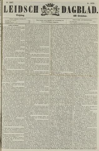 Leidsch Dagblad 1870-10-28