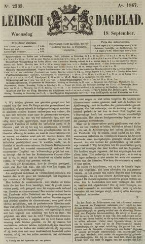 Leidsch Dagblad 1867-09-18