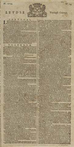 Leydse Courant 1754-02-01