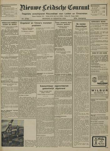 Nieuwe Leidsche Courant 1939-08-21