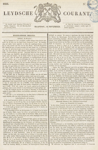 Leydse Courant 1853-11-14