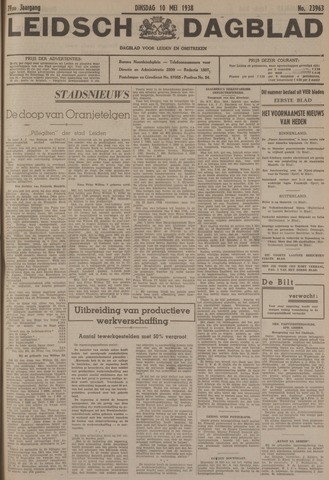 Leidsch Dagblad 1938-05-10