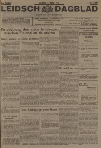 Leidsch Dagblad 1940-03-09
