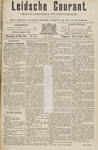 Leydse Courant 1885-05-20